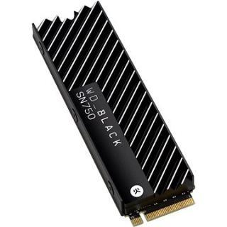 WD Black SN750 NVMe SSD 1TB Heatsink