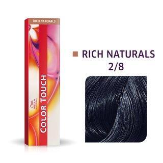 Wella Professionals Color Touch Rich Naturals profesionální demi-permanentní barva na vlasy s multi-dimenzionálním efektem 2/8 60 ml