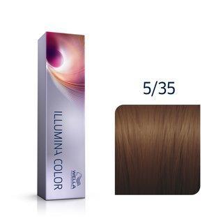 Wella Professionals Illumina Color profesionální permanentní barva na vlasy 5/35 60 ml