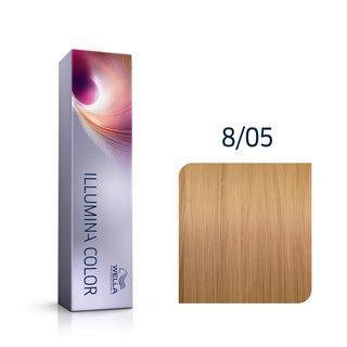 Wella Professionals Illumina Color profesionální permanentní barva na vlasy 8/05 60 ml