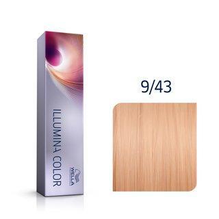 Wella Professionals Illumina Color profesionální permanentní barva na vlasy 9/43 60 ml