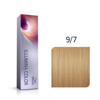 Wella Professionals Illumina Color profesionální permanentní barva na vlasy 9/7 60 ml