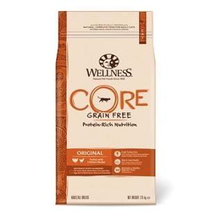 Wellness Core Cat Original krůta a kuře 10kg