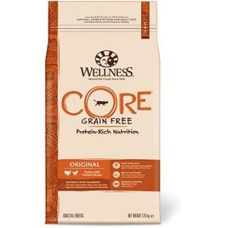 Wellness Core Cat Original krůta a kuře 1,75kg
