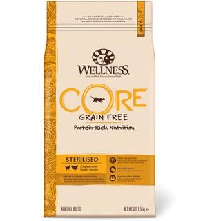 Wellness Core Cat Sterilised krůta a kuře 1,75kg