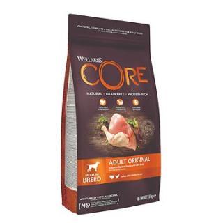 Wellness Core Dog Original krůta a kuře 1,8kg