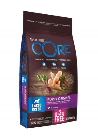 Wellness Core Wellness Dog LB Puppy kuře 10 2kg