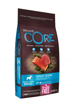 Wellness Core Wellness Dog Ocean losos a tunak 10 2kg