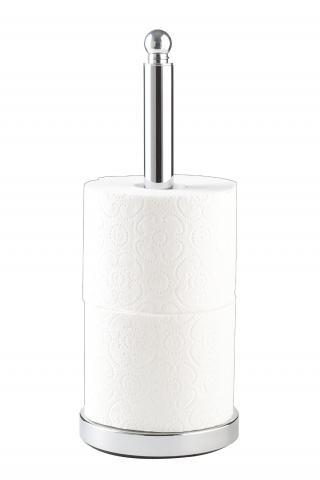 WENKO Držák toaletního papíru VITERBO nerez 14x35 cm