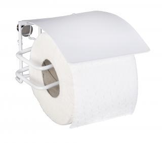 WENKO Držák WC papíru BEZ VRTÁNÍ Classic Plus bílý