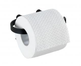WENKO Držák WC papíru BEZ VRTÁNÍ Classic Plus černý