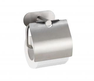 WENKO Držák WC papíru BEZ VRTÁNÍ TurboLoc OREA MATT matný 8x21x18 cm