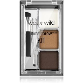 Wet n Wild Ultimate Brow sada pro dokonalé obočí odstín Ash Brown 2,5 g dámské 2,5 g