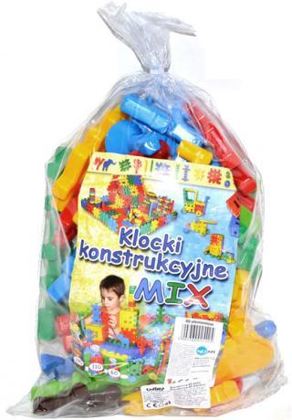 WIKY Stavebnice 40 dílů - plast mix barev