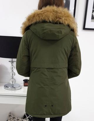 Winter womens parka ALASKA olive TY0921 dámské Neurčeno M