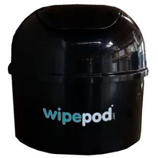 WIPEPOD zásobník na dezinfekční utěrky - černý