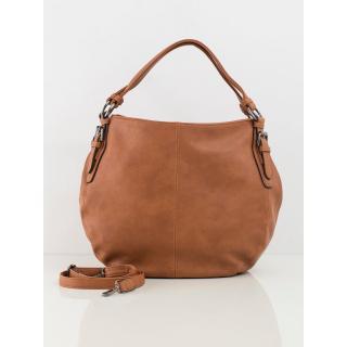Women´s camel bag made of eco-leather dámské Neurčeno One size