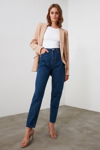 Women's jeans  Trendyol Mom jeans dámské Navy 34
