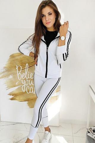 Womens 2in1 MICRA white sweatshirt AY0380 dámské Neurčeno S