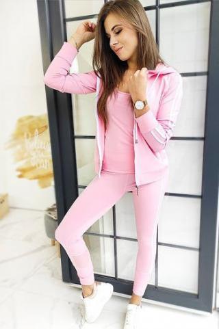 Womens 3in1 sweatshirt set VELLA pink AY0386 dámské Neurčeno S