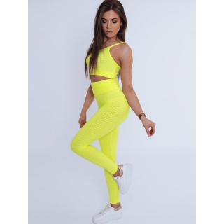Womens 3in1 tracksuit PANAMERA yellow Dstreet AY0525 dámské Neurčeno S