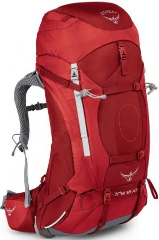 Womens backpack Ariel AG 55 PICANTE_RED 52 Litrů