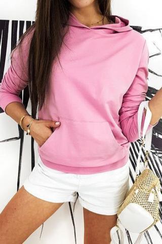 Womens BASIC EVER sweatshirt pink BY0383 dámské Neurčeno One size