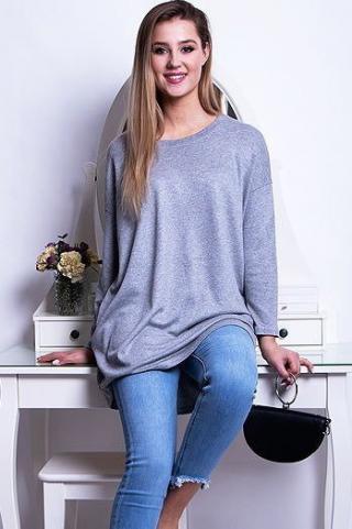 Womens blouse LIVIA light gray RY0647 dámské Neurčeno One size
