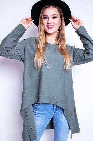 Womens blouse LOOK khaki RY0613 dámské Neurčeno One size