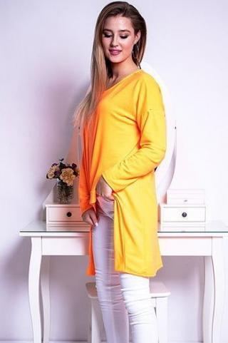 Womens blouse LOOK neon orange RY0617 dámské Neurčeno One size