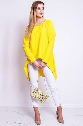 Womens blouse LOOK yellow RY0614 dámské Neurčeno One size