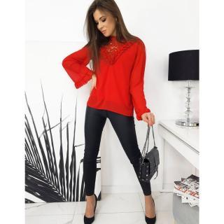 Womens blouse MELLA red RY0564 dámské Neurčeno One size