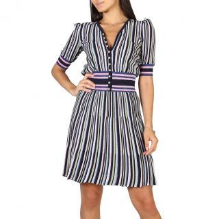 Womens dress  Emporio Armani Striped dámské Blue 40