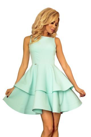Womens dress NUMOCO 169 dámské Green   4 mint S