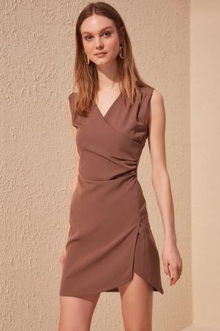 Womens dress Trendyol Mini dámské Mink 34