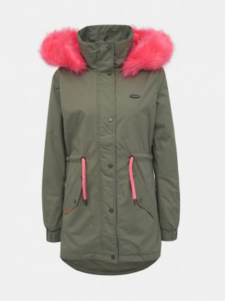 Womens jacket ALIFE AND KICKIN FLORA dámské Khaki XS