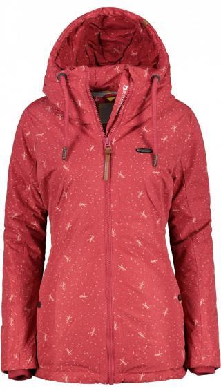 Womens jacket ALIFE AND KICKIN Lilou dámské Cranberry XS