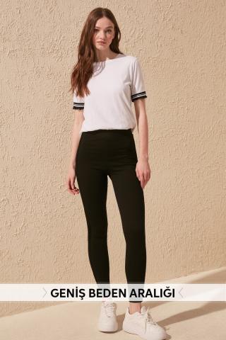 Womens Leggings Trendyol Fashion dámské Black S