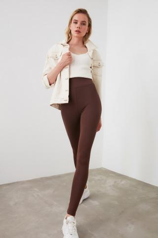 Womens Leggings Trendyol Fashion dámské Brown XS
