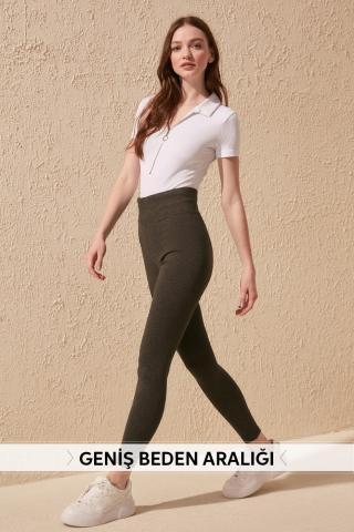Womens Leggings Trendyol Fashion dámské Grey S