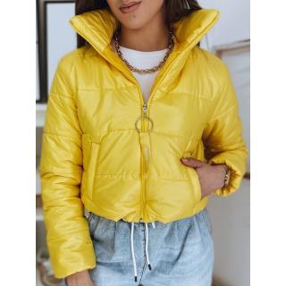 Womens quilted jacket ADRIANNA yellow Dstreet TY1893 dámské Neurčeno S