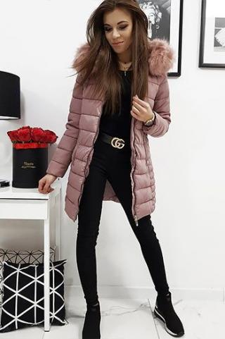 Womens quilted jacket AMELIA pink TY1037 dámské Neurčeno XL