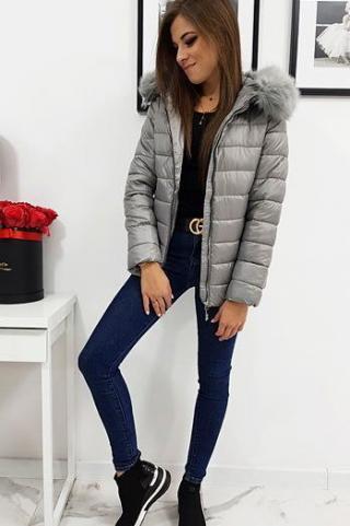 Womens quilted jacket ESTELLA dark gray TY1011 dámské Neurčeno XL