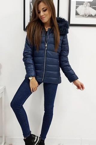 Womens quilted jacket ESTELLA navy blue TY1010 dámské Neurčeno S