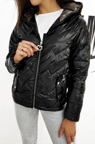 Womens quilted jacket FLENCE black TY1273 dámské Neurčeno XL