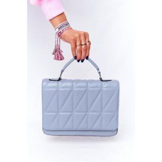 Womens Quilted Messenger Bag Monaco Light Blue dámské Neurčeno UNIVERZÁLNÍ
