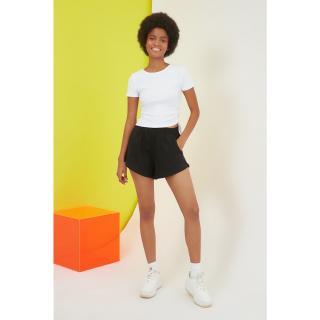 Womens shorts Trendyol Bermuda dámské Black S