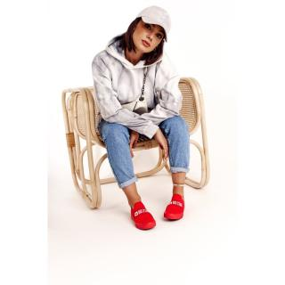 Womens Slip-on Sneakers Big Star FF274220 Red dámské Neurčeno One size