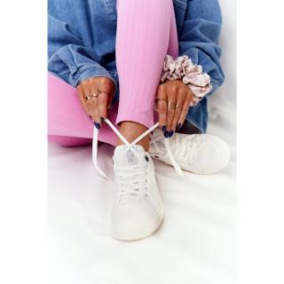 Womens Sneakers BIG STAR HH274017 White dámské Neurčeno 38