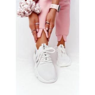 Womens Sport Sock Shoes GOE HH2N4016 White dámské Neurčeno 38